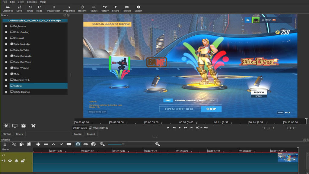 video editing animation software